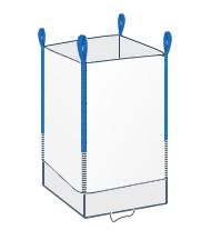 FWY - model wyposażony w fartuch wysypowy znajdujący się na dole oraz otwartą górę.