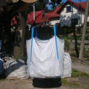 Big Bag w powietrzu